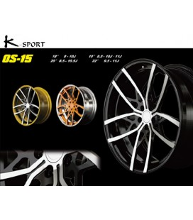 Ksport forged wheels OS series