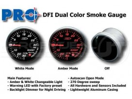 Dual color gauge Turbo-Boost (bar) 52mm