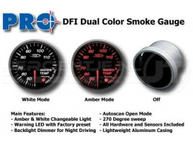 Dual color gauge Water Temperature 52mm