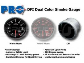 Dual color gauge Exhaust Gas Temp 52mm