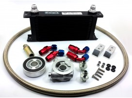 Toyota GT86 / Subaru BRZ Oil Cooler Kit HEL / SETRAB 16 Row