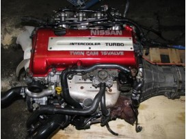 Nissan SR20 Motor Red top