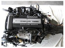 SR20 Engine Black top