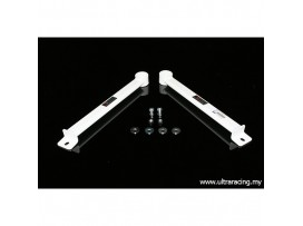 Audi A6 / A7 10+ UltraRacing 2x2-Point Rear Lower Side Bars