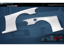 Impreza 92-00 GC8 coupe B22 WRC look Wheel Arches [AUTOR]