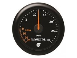 Innovate Analog MTX-A 30 PSI Vacuum/Boost Gauge Kit,Black Di