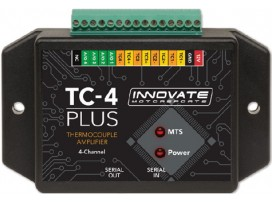 Innovate TC-4 PLUS Thermocouple Amp for MTS, 4-Ch w/Anlg Out