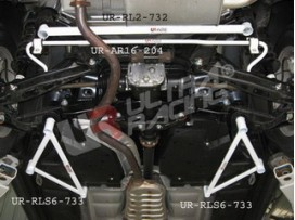 Subaru Forester SH5/SH9/SJ 08+ Ultra-R 2x3P Rear Side Bars
