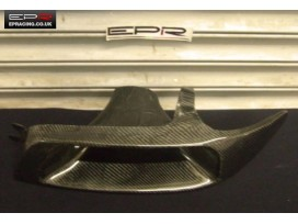 R33 carbon headlight air intake