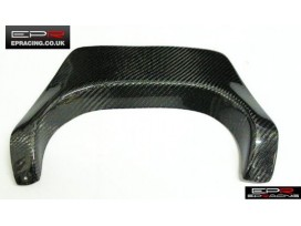 R33 carbon exhaust heat shield
