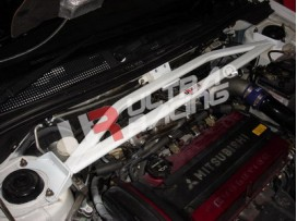 Mitsubishi EVO 7/8/9 UltraRacing 3Point Front Upper Strutbar