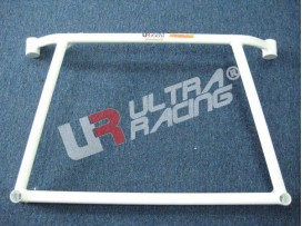 Mitsubishi EVO 4/5 UltraRacing 4-Point Front Lower Brace