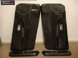 S13 carbon door cards