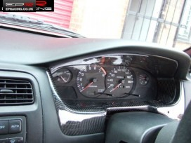S14A carbon dash surround panel