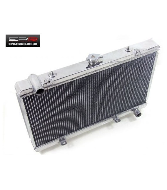 200SX Aluminium 50mm Twin Core Race Radiator