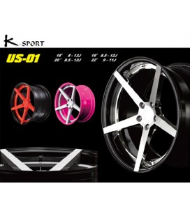 Ksport Forged Wheels US series